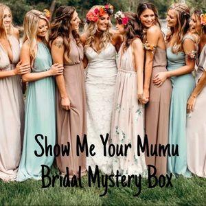 SHOW ME YOUR MUMU Bridal Mystery Box
